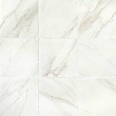 "Mirasol Tile Floor 12"" x 12"" - Bianco Carrara"