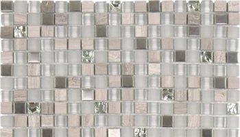 Glass Tile Matte-Glossy Mosaic 1