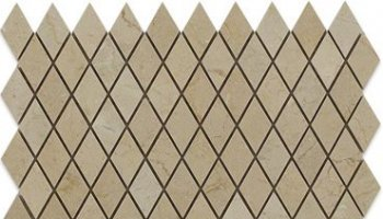 Crema Marfil Tile Diamond 1