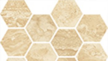 Castelbianco Tile Hexagon Mosaic 13
