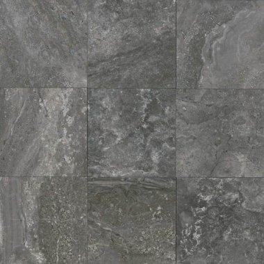 "Laurel Heights Floor 12"" x 12"" - Charcoal Crest"