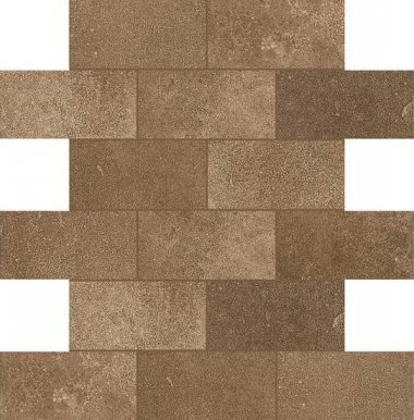 "Fusion Cotto Tile Mosaic Brick Joint 2"" x 4"" - Cotto"