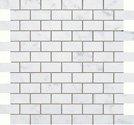"Eon Tile Brick Mosaic 1"" x 2"" - Carrara"