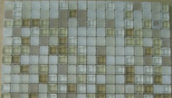 5/8 Glass Tile Mosaic 5/8