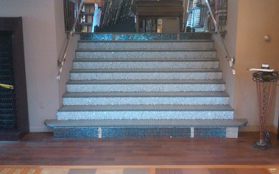 ArtWalk Tile Stair Tiled Makeover