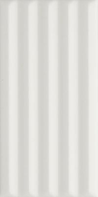 """Synonyms & Antonyms Tile Wigwag Deco 3"""" x 6"""" - White"""