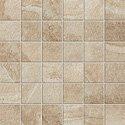 "Ridge Tile Mosaic 2"" x 2"" - Beige"