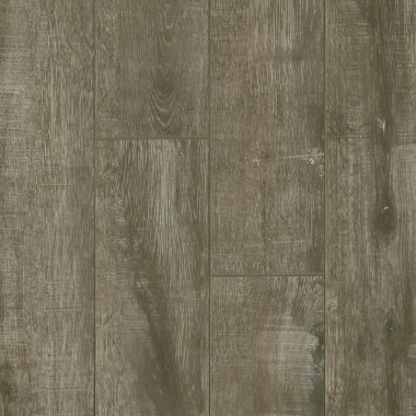 "PRYZM Vinyl Brushed Oak 6.6"" x 47.56"" - Gray"