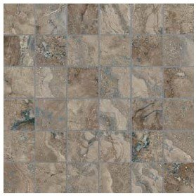 "Ottomano Tile Mosaic 2"" x 2"" - Walnut"