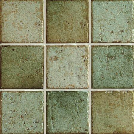Herberia Mistral Tile Backsplash 4 Quot X 4 Quot Verde