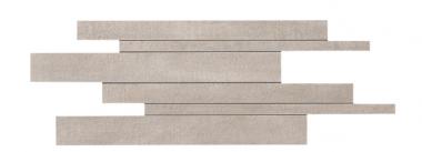 "Mark Mosaic Brick Matte Tile 11 ¾"" x 23 ⅝"" - Clay"