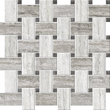 "Italian Icon Series Tile Irregular Blend 16"" x 16"" - Freddo"