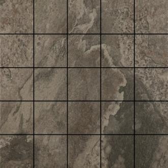 """Mandalay Tile Mosaic 2"""" x 2"""" - Slate"""