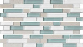 Color Appeal Tile Mosaic Blend - Pacific Coast