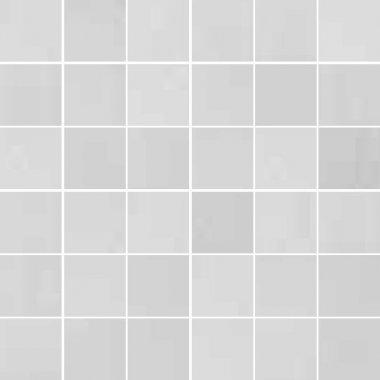 "Synonyms & Antonyms Tile Clay41 Mosaic 2"" x 2"" - White"