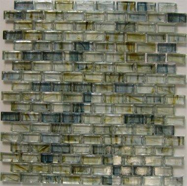 "Crystal Glass Tile 5/8"" x 1"" - ARAD6352"