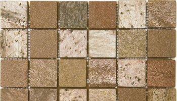 Quartzite Stone Tile Mosaic Polished 2