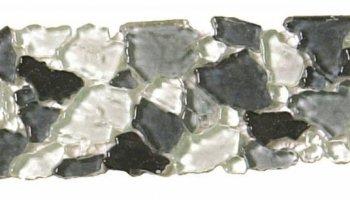 Glass Tile Opus Interlocking Border 3