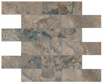 "Ottomano Tile Mosaic 2"" x 6"" - Walnut"