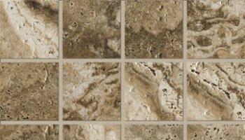 Archaeology Tile Square Mosaic 3