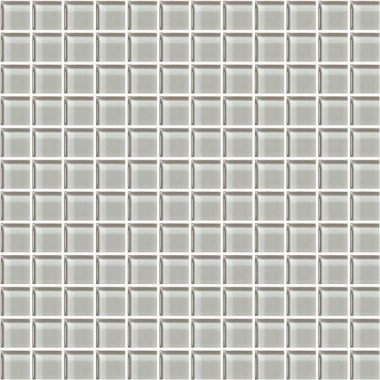 "Color Appeal Tile Mosaic 1"" x 1"" - Silver Cloud"