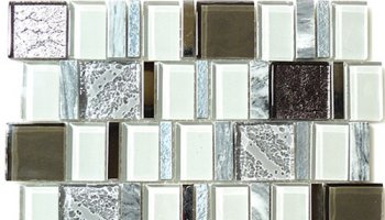 Academia Glass Tile - Evolution Grey