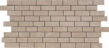 """Relevance Tile Mosaic 1"""" x 2"""" - Timely Beige"""