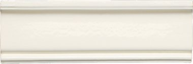 "Neri Tile Crown Molding #2 3"" x 8"" - Bone"