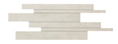 "Mark Mosaic Brick Matte Tile 11 ¾"" x 23 ⅝"" - Gypsum"
