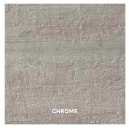 Mark Strutturato Rectified Tile 12 x 24 - Chrome