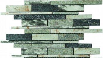 Marble Stone Tile Baguette Mosaic 12