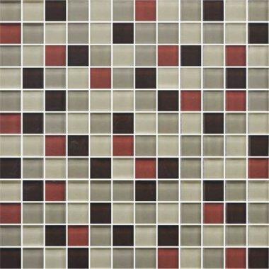"Color Appeal Tile Mosaic Blend 1"" x 1"" - Earth Fire"