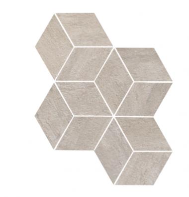 "Mark Mosaic Esagono Matte Tile 12"" x 13 7/8"" - Pearl"