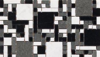 Stone a la Mode Tile Block Blend Polished - Uptown Blend