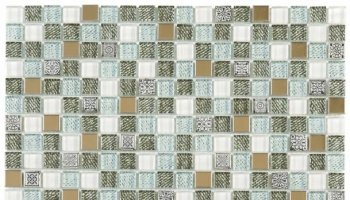 Glass Tile Decor 5/8
