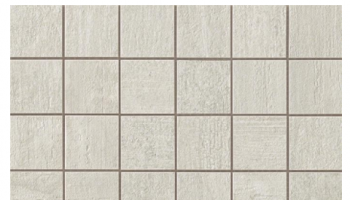 Mark Mosaic Matte Tile 2 x 2 - Gypsum