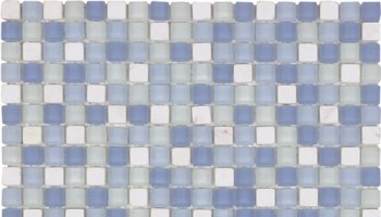 Glass Tile Matte Mosaic 1