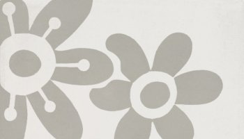 Bati Orient Cement Tile Decor Modern Flower 8