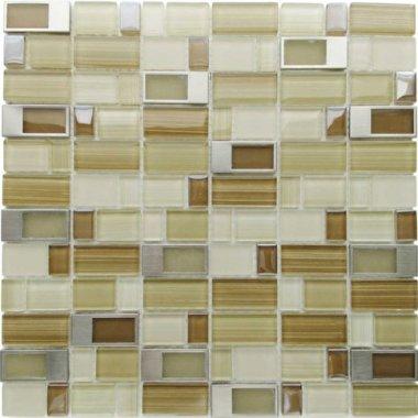 "Bangles Glass Tile 11.8"" x 11.8"" - Old City"