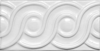 "Neri Tile Classic 3"" x 6"" - White"