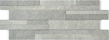 """Eco-Stone Series Tile Muretto Decor 6"""" x 16"""" - Grigio"""