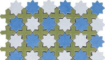 Aquarelle Tile Mosaic 12