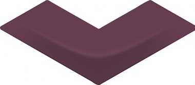 """Arc Series Tile Gloss 5"""" x 12"""" - Claret Red"""