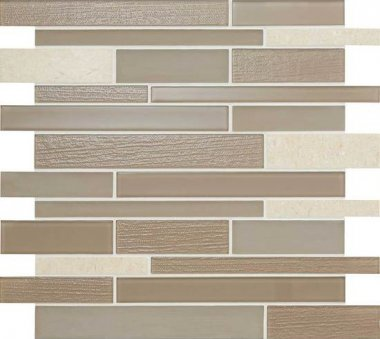 "Serentina Tile Random Interlocking 11 3/4"" x 13 1/4"" - Composure"