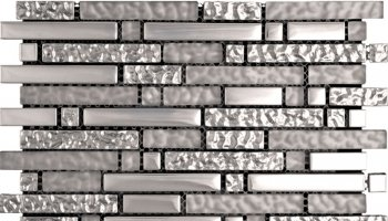 Cascades Hipster Shadow Mosaic Tile - 11.7