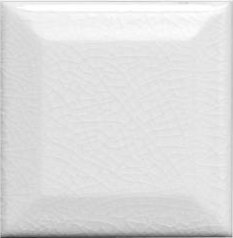 "Hampton Tile Beveled 3"" x 3"" - White"