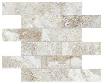 "Ottomano Tile Mosaic 2"" x 6"" - Ivory"