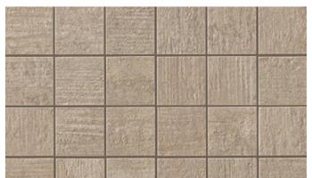 Mark Mosaic Matte Tile 2 x 2 - Clay