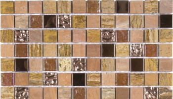 Marble Stone Tile Mosaic Polished 7/8