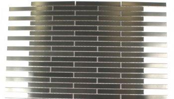 Metal Mosaics Tile Brick 1/2